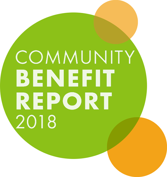Community Benefit Report 2018. Download the 2018 Report in PDF.