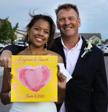 Wedding photo-edited